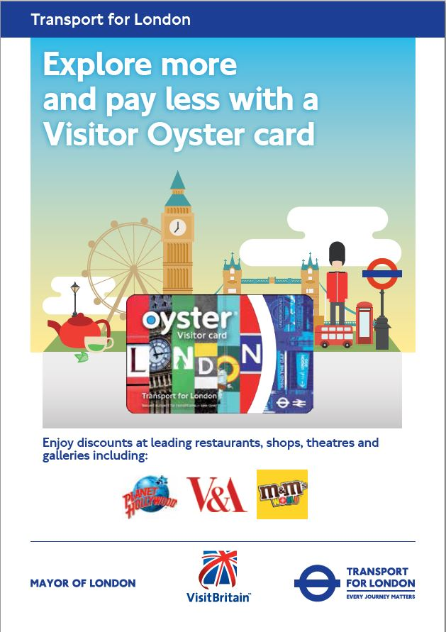 Visitor Oyster Card_周邊優惠 (Visitor Oyster Card 周邊優惠)